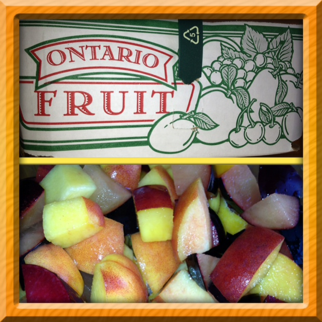 collage fruit
