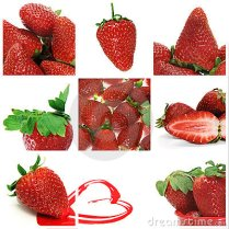 strawberries-collage-14383286